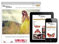Mobile ready website only £299