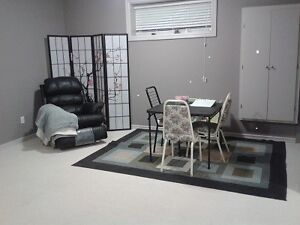 FURNISHED BASEMENT LIVINGROOM WITH BATHROOM for ASIAN FEMALE