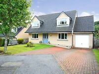 Spacious 4 Bed detached house for sale with garage and garden studio