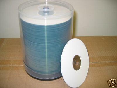 TAIYO YUDEN CD-R, WHITE INKJET PRINTABLE,  52X, 600 PCS