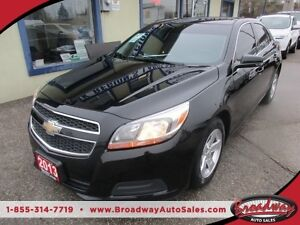 2013 Chevrolet Malibu WELL EQUIPPED LS EDITION 5 PASSENGER 2.5L