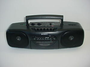 Vintage Sony Tape Player Boom Box