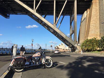 1997 Harley Davidson Heritage Springer Softail FLSTS