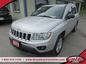 2013 Jeep Compass 'FUN TO DRIVE' LOADED 4X4 5 PASSENGER 2.4L - D