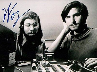Steve Wozniak and some other dude in the early days of Apple.