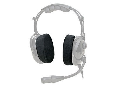 ASA AirClassics Cloth Earseal Covers for Pilot Headsets - ASA-HS-1-COVER