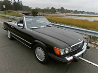 Mercedes 380SL 1981 decapotable.