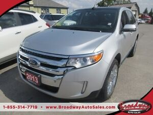 2013 Ford Edge LOADED LIMITED EDITION 5 PASSENGER AWD.. 3.5L - V