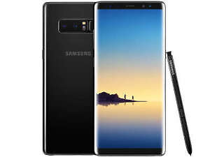 NEW-64B Samsung Galaxy Note 8 with all Accessories+ UNLOCKED