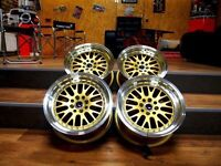 "JAPAN RACING JR-10 18"" alloys Staggered 5x120 5x114 BMW Honda Toyota Nissan T5 etc"
