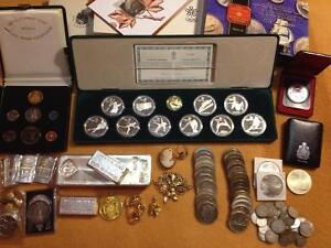 Buying ALL Types of Gold & Silver: COINS Jewellery Bullion $$$