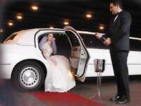 Limo service for wedding