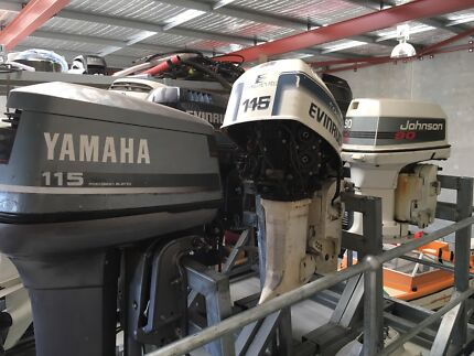 Outboard wrecking, heaps of parts available