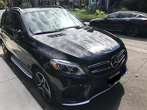 2017 Mercedes GLE43 Lease takeover - transfer Black Brown