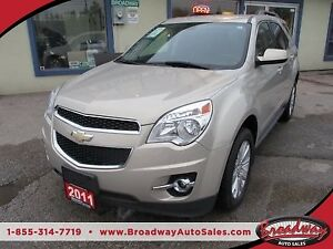 2011 Chevrolet Equinox LOADED 2-LT EDITION 5 PASSENGER 3.0L - V6