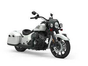 2019 Indian Motorcycle Springfield Dark Horse White Smoke