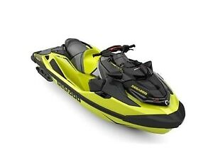 2019 Sea-Doo RXT-X 300 IBR  Sound System Neon Yellow and Lava G