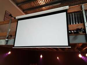 "100"" Motorised Projector Screen 