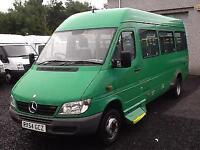 Mercedes-Benz SPRINTER 411 CDI automatic 17 seat minibus
