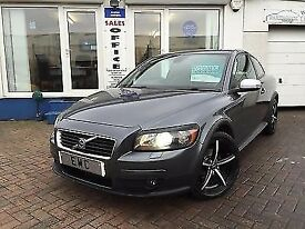 2009 09 Volvo C30 1.6D DRIVe SE LUX~FSH~2 KEYS~LEATHER