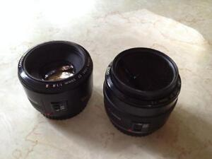 Canon EF 35mm F2 & 50mm 1.8