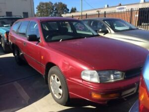 1996 Toyota Camry SDV10 CSi Red 4 Speed Automatic Wagon Georgetown Newcastle Area Preview