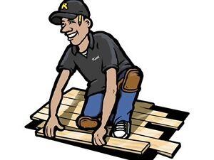 Experience hardwood and laminate installer Stratford Kitchener Area image 1