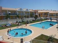 Holiday Apt. Sunny Algarve sleeps 6 near Albufeira Air Con/Pool Towels/2bed 2 bath