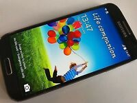 Samsung Galaxy S4 Factory Unlocked Excellent (open to offers)