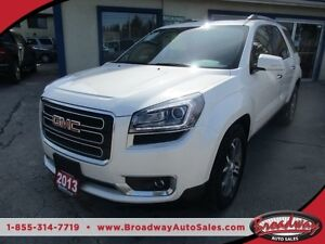 2013 GMC Acadia LOADED SLT EDITION 7 PASSENGER 3.6L - V6.. AWD..