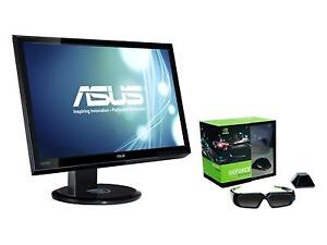 ASUS 120hz 2ms monitor with Nvidia 3D Vision