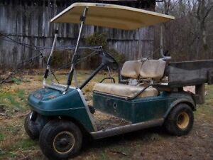 Wanted broken golf carts