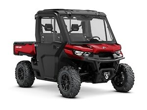 2018 Can-Am Defender XT CAB HD8 - Farm/Ranch Promo w/3 Yr Warran