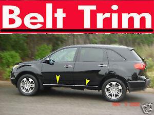 Acura MDX CHROME SIDE BELT TRIM DOOR MOLDING 2007 2008 2009 2010 2011 2012 2013