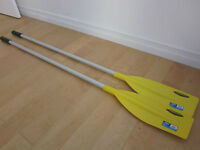2 BRAND NEW OARS, LABEL STILL ON, NEVER BEEN USED, 65% OFF PRICE