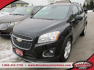2013 Chevrolet Trax LOADED LTZ MODEL 5 PASSENGER 1.4L - ECO-TEC.