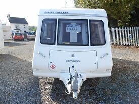 2006 Compass Magnam 482/2 This lovely caravan needs its forever home!!!!