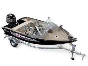 2016 Princecraft DLX Nanook WS Fishing Boat w/ Mercury 90HP Engi