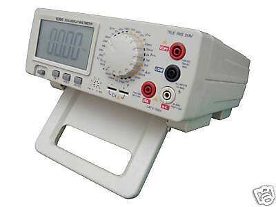 New Bench Top 4 12 True Rms Multimeter Dcvacvdcaaca