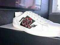 Gucci Ace Snake Trainers
