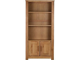 Harbury Double Bookcase