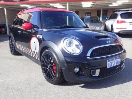 2011 Mini Clubman R55 LCI John Cooper Works Black/Red, Black 6 Speed Manual Wagon