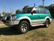 1997 Toyota Landcruiser Prado VZJ95R GXL (4x4) Green 4 Speed Automatic 4x4 Wagon Clontarf Redcliffe Area Preview