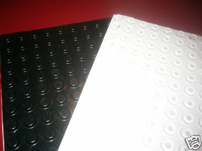 1000 BLACK wall bumpers Picture framing  rubber BUMPONS USA made