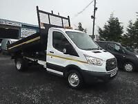 Ford Transit t350. Tipper new model 2.2 td 125 bhp