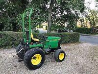 John deere 655 compact tractor