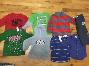 baby boy long sleeve lot size 18-24 months
