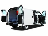 FULL SIZE CARGOVAN PICKUP DELIVERY MOVING 647.479.3553