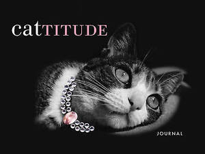 CAT TITUDE JOURNAL: Great Gift for Cat Lovers : AU1-R6 HBS : NEW BOOK : FREE P&H