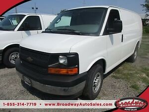 2017 Chevrolet Express 3/4 TON 'WORK READY' 2 PASSENGER 4.8L - V